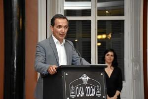 Intervención del delegado territorial de Empleo, Manuel Ceada.