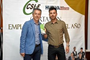 el policía local Juan Diego Naranjo Franco obtenía el premio en la categoría de Seguridad y Emergencias.