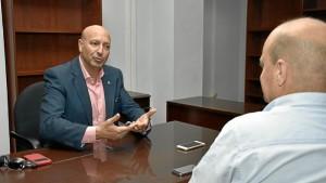 Juan José García Machado ha concedido una entrevista a HBN. / Foto: Manu Rodríguez.