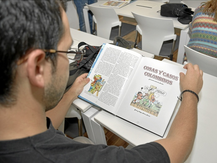 La primera tirada, tendrá 1.500 ejemplares que serán repartidos por bibliotecas públicas escolares y municipales de toda la provincia. /Foto: Manuel Rodríguez.