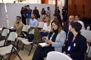 Periodistas y asistentes al Congreso. / Foto: Manu Rodríguez.