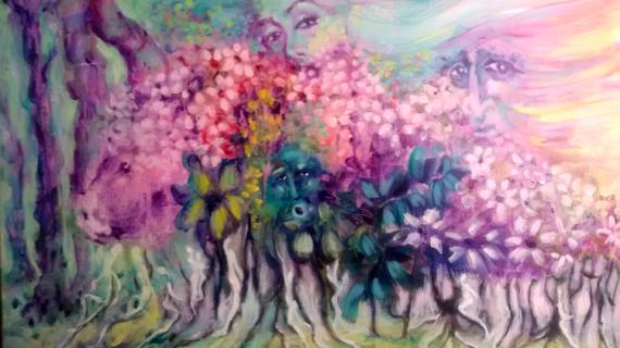 Antonia María Peralto expone la colección pictórica multidisciplinar 'Colores'