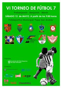 Cartel del torneo que se celebra este sábado en San Juan del Puerto.