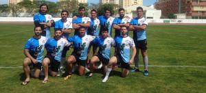 Formación del CR Bifesa Tartessos, segundo clasificado en el torneo disputado en Isla Cristina.