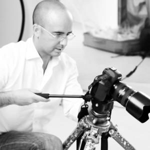 El fotógrafo onubense Fran Barrero.
