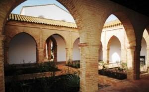 Detalle del Claustrillo mudéjar del Monasterio de Santa Clara de Moguer. / Foto: http://www.monasteriodesantaclara.com