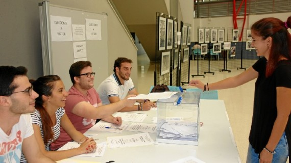 La comunidad universitaria vive este lunes 22 su jornada electoral para el Rectorado