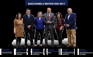 Equipo de la candidatura de García Machado.