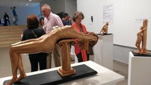 El  taller de escultura de Fernando Bono está teniendo muy buena acogida.