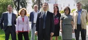Imagen oficial de la candidatura de Francisco Ruiz.
