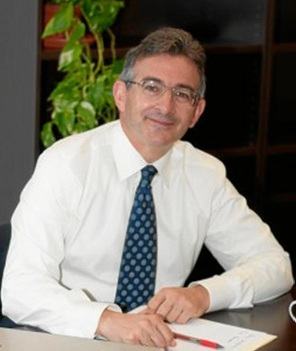 El candidato a rector de la Universidad de Huelva, Francisco Ruiz.