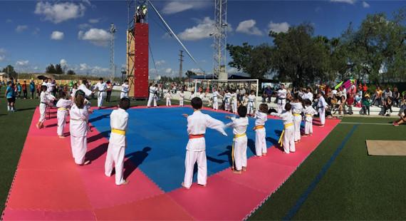 Gibraleón celebra sus VIII Miniolimpiadas