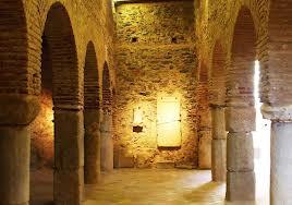 Interior de la Mezquita de Almonaster.
