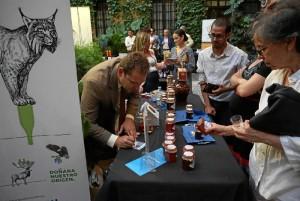 Imagen del acto organizado en Sevilla por el Patronato de Turismo, en el que participó Manuel Carrasco, contando con el servicio de Cuesta La Cinta Catering.
