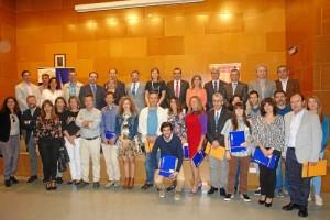 La UHU y la Cátedra AIQBE entregan sus premios a la excelencia en investigación.