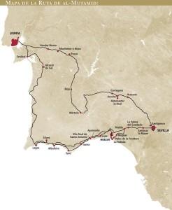 Itinerario de la Ruta al-mutamid. / Foto: andalucia.org.