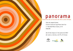 Invitación a la exposición 'Panorama'.