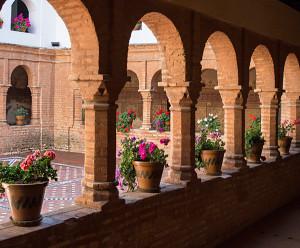 Claustro mudéjar del Monasterio de La Rábida. / Foto: Siente Huelva.