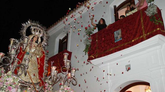 Cartaya acompaña a su Patrona en el XXV aniversario de su proclamación como Alcaldesa Perpetua