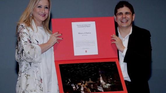 El nervense Javier Perianes, galardonado con el Premio de Cultura de la Comunidad de Madrid