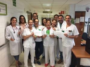Desde 1992 trabaja en el Hospital Infanta Elena.