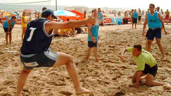 La Antilla acoge del 7 al 9 de julio el tradicional Torneo de Balonmano Playa