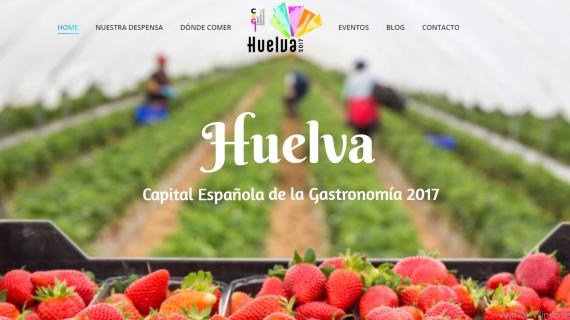 La Capitalidad Gastronómica de Huelva, más moderna y atractiva para los internautas