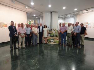 Consejo Rector y representantes sectoriales de Cooperativas Agro-alimentarias de Huelva.