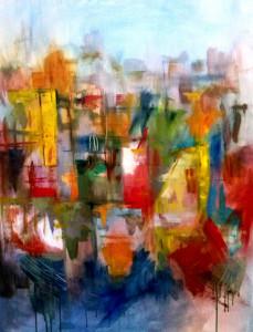 El color siempre es protagonista en sus obras.