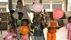 Ha estado en Congo, Etiopía y Guatemala como voluntaria.