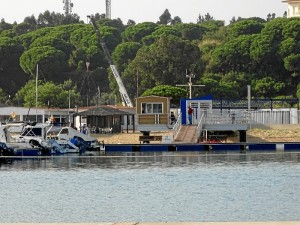 Una vez en marcha el servicio de varadero, el club prevé la apertura de una Escuela de Vela. / Foto: Baltasar Galán.