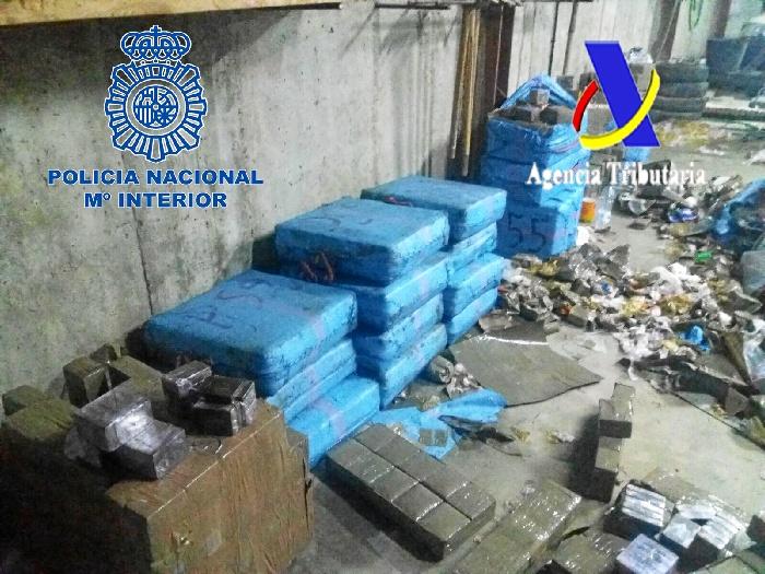 Operación conjunta de la Policía Nacional y la Agencia Tributaria.