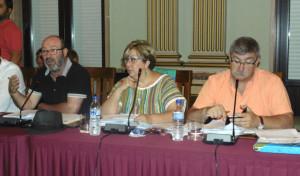 Grupo municipal de IU.