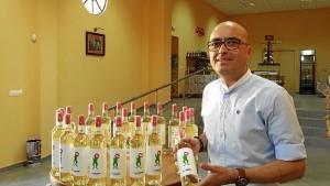 Eladio Mateo Soto, gerente de la Cooperativa Vinícola del Condado.