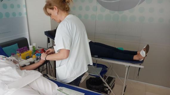 Récord superado en las donaciones de sangre en Clínica Los Naranjos