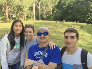 Dori vive en Aljaraque con su familia.