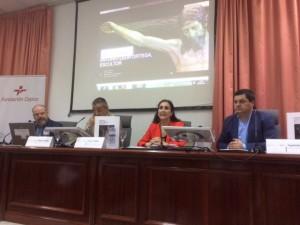 Intervención de Teresa Millán, directora de relaciones institucionales de la Fundación Cepsa en Huelva.