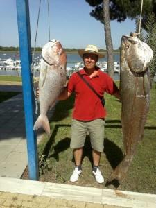 Los concursos de pesca son una de las actividades que desarrollan desde sus inicios.
