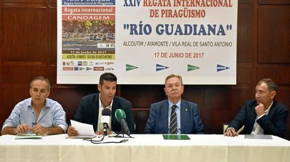 Llega la XXIV edición de la Regata Internacional de Piragüismo 'Río Guadiana'