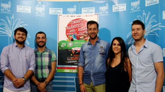 Tomasito, Astola, La Lola y los Aslandticos encabezan el cartel del Greenval Fest