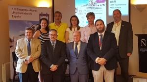 Nueva Junta Directiva de Alumni España. Presidente Alumni España. Antonio José Redondo.