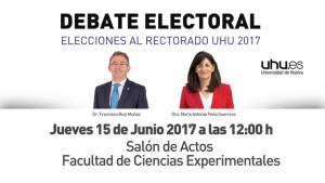debate-electoral-elecciones rectorado uhu