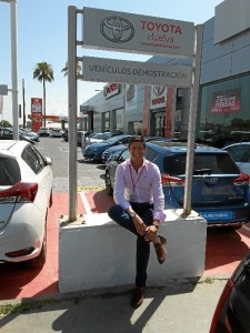 Antonio Maestre, asesor comercial de vehículos de ocasión.