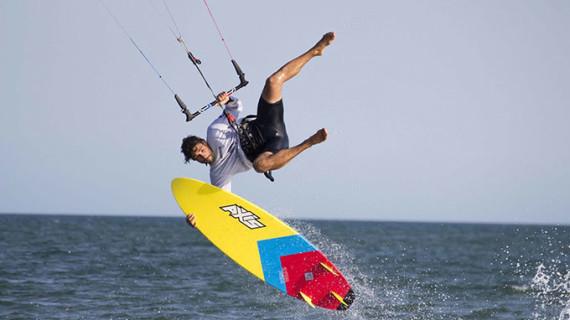Ayamonte acoge este fin de semana la primera prueba de la Spain Kiteboarding League