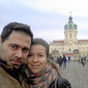 Su familia está contenta porque en Berlín no está sola.