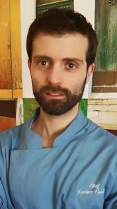 El cocinero Javier Fuster Domínguez.