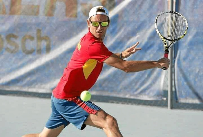 Emilio Domínguez, valverdeño que padece la enfermedad de Andrade y ha encontrado en el deporte la mejor terapia.