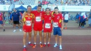 Emilio Domínguez ha competido a nivel nacional en diferentes modalidad deportvas, entre ellas el atletismo.