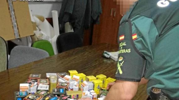 Intervenidos productos de contrabando de origen marroquí un establecimiento de la capital