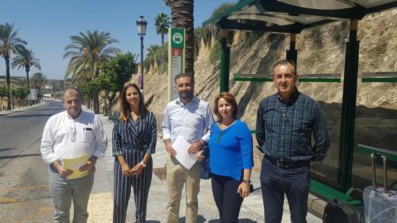 El Consorcio de Transporte de Huelva mejora la oferta de servicios a las playas de Moguer con 133 expediciones más en verano